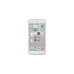 apple, ipod, product, silver, touch icon