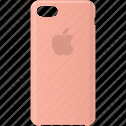 apple, case, iphone, silicone icon