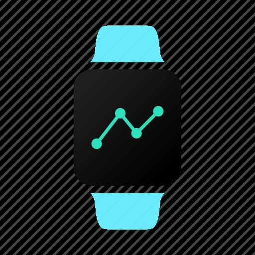 chart, graph, healthkit, tracker icon