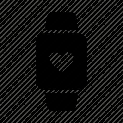 health, heart, monitor, tracking icon