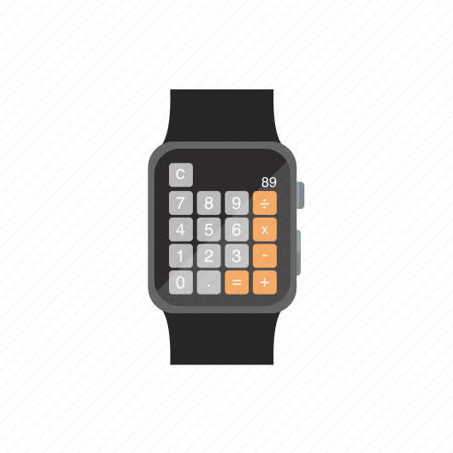 app, apple watch, calculator, iwatch, numbers icon
