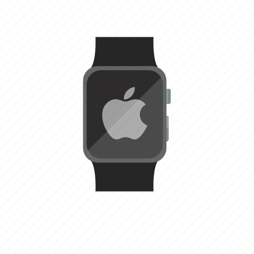 apple logo, apple watch, iwatch, logo icon