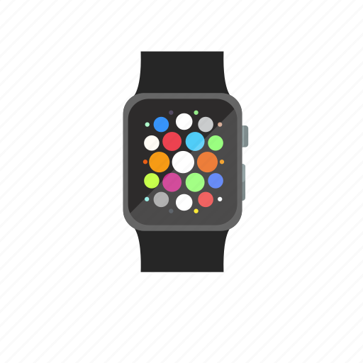 app menu, apple, apple watch, iwatch, menu, touchscreen icon