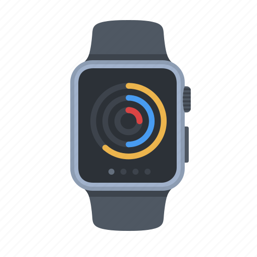 activity, apple watch, exercise, fitness, running, smartwatch, technology icon