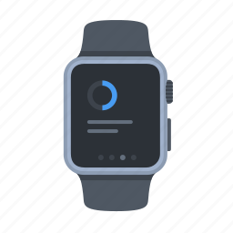 apple watch, device, iwatch, notification, smartwatch, technology, timepiece icon