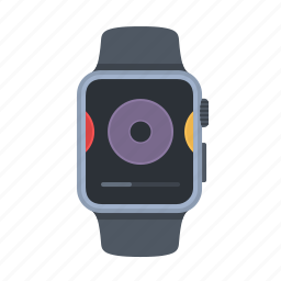 albums, apple watch, device, iwatch, smartwatch, technology, timepiece icon