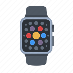 apple, apps, clock, iwatch, swatch, technology, time icon