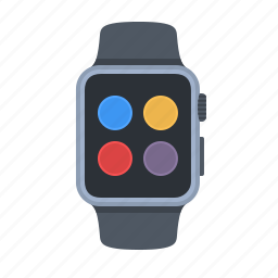 apple watch, contacts, device, iwatch, smartwatch, technology, timepiece icon