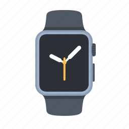 apple watch, clock, clock face, device, smartwatch, time, timepiece icon