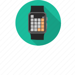 app, apple watch, calculator, iphone, iwatch, numbers icon