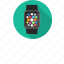 app, apple, apple watch, iwatch, menu, slidescreen, touchscreen icon