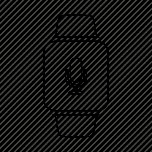 record, sound, voice, voice memo icon