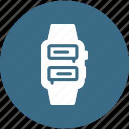 apple, digital, ios, iwatch, smartwatch, wristwatch icon