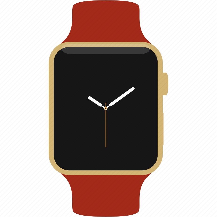 apple, clock, edition, gold, time, watch, yellow icon