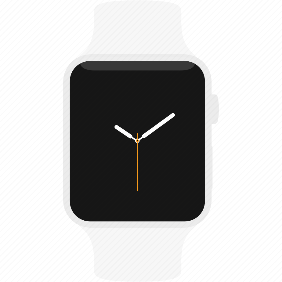 apple, clock, silver, sport, time, watch, wrist icon