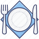cutlery, tableware, restaurant, meal icon