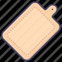 chopping, kitchen, board, cutting icon