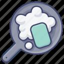 dishwashing, sponge, cleaning, wash icon