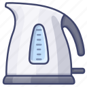 water, kettle, kitchen, electrical icon