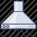 appliance, kitchen, fan, extractor icon