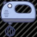 hand, blender, kitchen, mixer icon