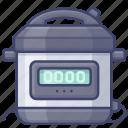 cooker, pressure, instant, pot icon