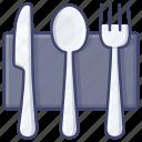dinner, cutlery, tableware, kitchen icon
