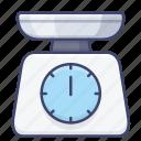 appliance, weight, kitchen, scales icon