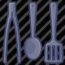 cooker, kitchen, utensil, spatula icon