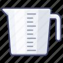 measure, measuring, jug, cup icon