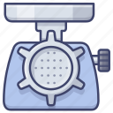 appliance, kitchen, grinder, meat icon