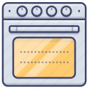 oven, kitchen, bake, stove icon