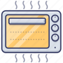 appliance, oven, toaster, grill icon