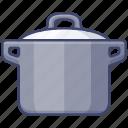 cooker, pressure, cookware, pot icon