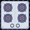 appliance, kitchen, gas, stove icon