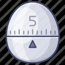 appliance, kitchen, stopwatch, timer icon
