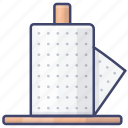 towel, paper, kitchen, roll icon