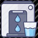 appliance, water, purifier, dispenser icon