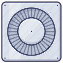 extractor, exchange, fan, appliance, air icon
