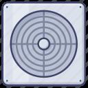 bathroom, extractor, appliance, fan icon