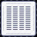 central, conditioner, conditioning, air icon