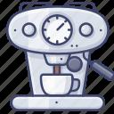 machine, coffee, appliance, espresso