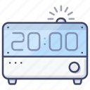 time, alarm, clock, digital