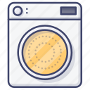 laundry, dryer, electric, clothes icon