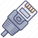 network, ethernet, connect, cable icon