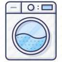 washing, laundry, appliance, machine icon
