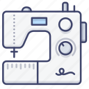 sew, sewing, machine, tailor icon