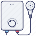 heater, water, bath, boiler icon