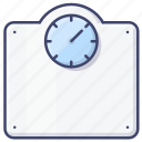 bathroom, weight, mechanical, scales icon
