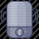 speaker, bluetooth, portable, wireless icon